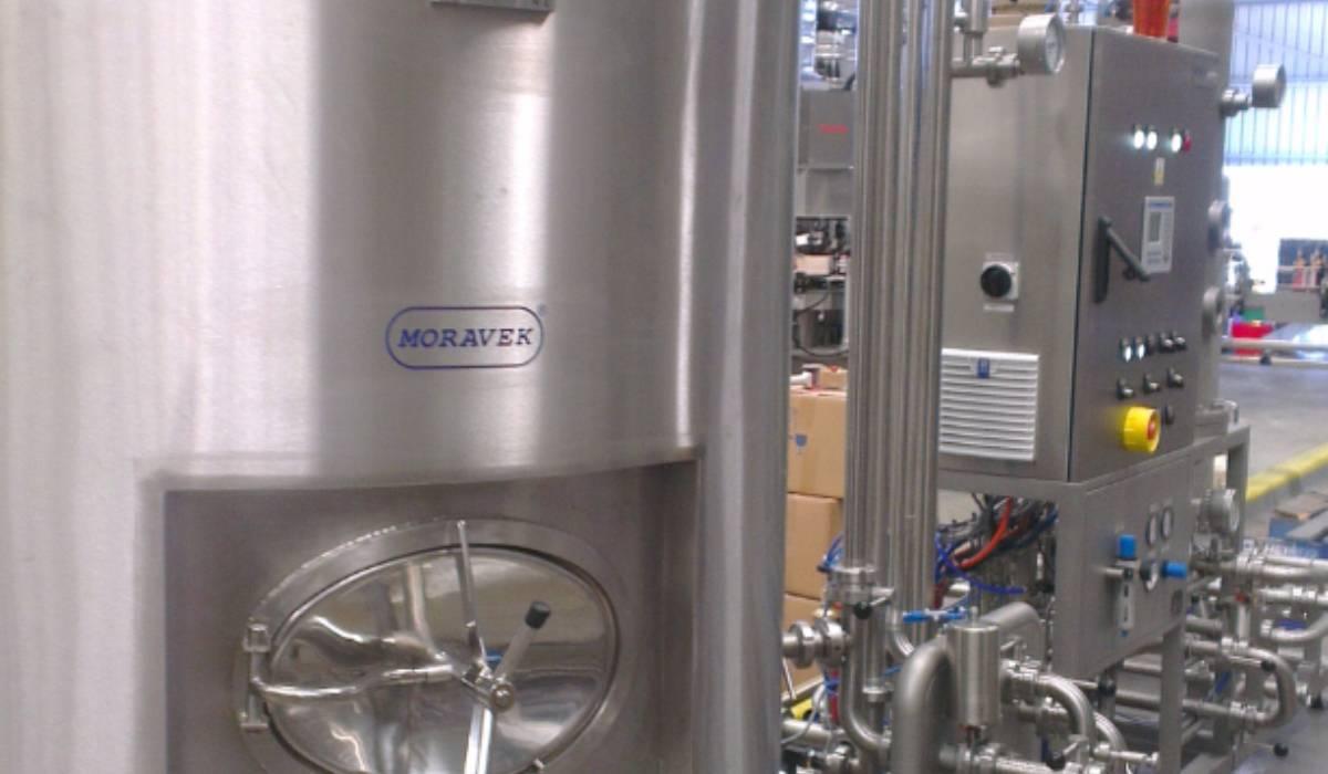 BC30 + BF30 PALL + BT30+ systém dopravy piva – Four Pines Brewery, Manly