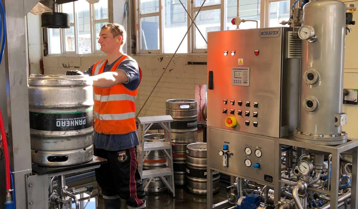Panhead Brewery - aplikace na kegy